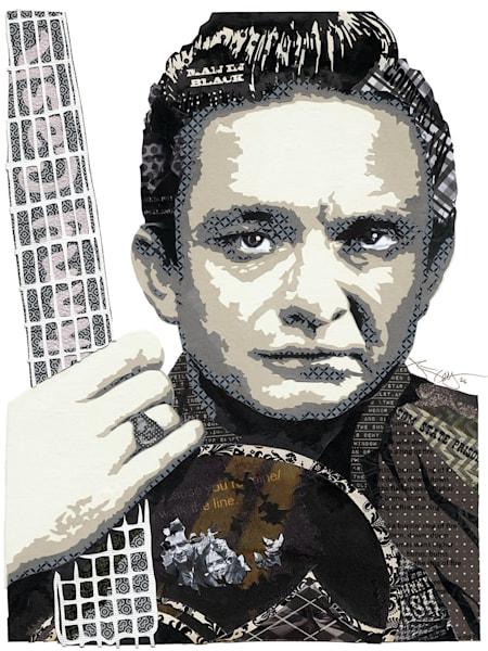 Johnny Cash Art | Made by Kristi