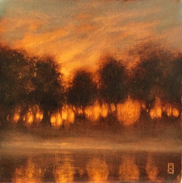 Sunset Silhouette Art | Michael Orwick Arts LLC