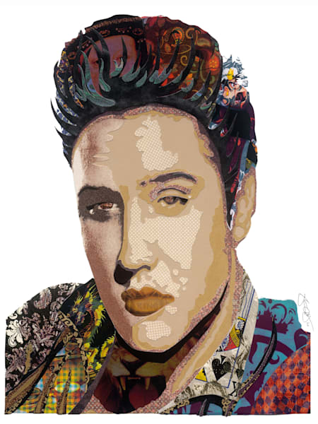 Elvis Art | Made by Kristi