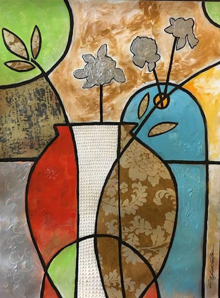 Vases Silver Roses Art | thomaselockhart