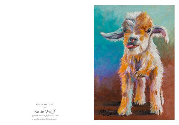 5x7 Goat Card | HFA print gallery