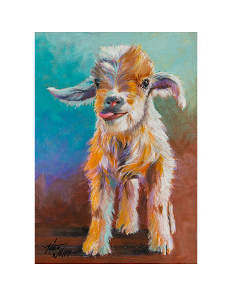 11x14 Goat On Paper | HFA print gallery