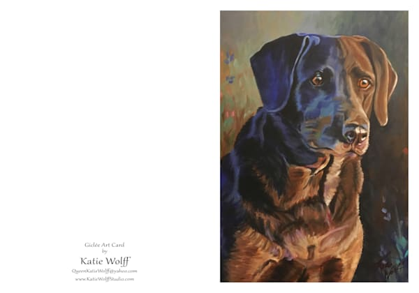 5x7 Blue Dog Card | HFA print gallery
