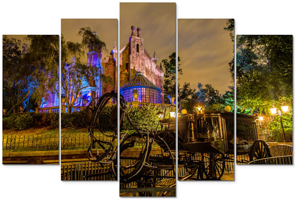 Haunted Mansion - Disney Panel Art | William Drew Photography