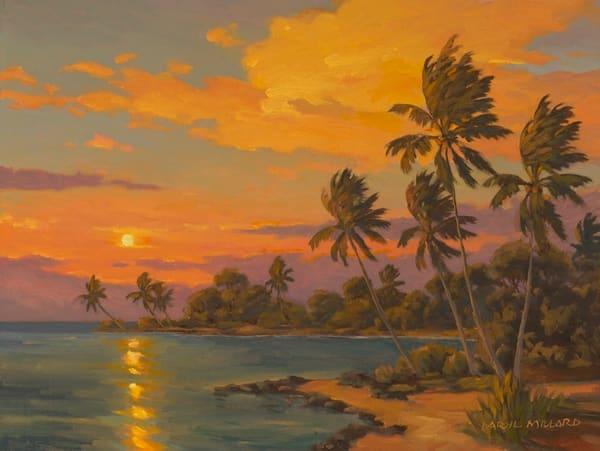 Aloha Sunset Art | Daryl Millard Gallery LLC