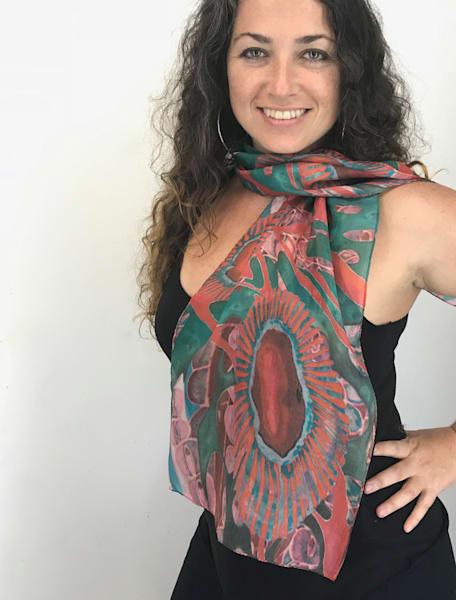 Tiffany Silk Scarf