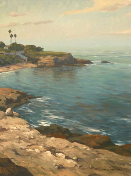 La Jolla Cove Reflections  Art | Daryl Millard Gallery LLC