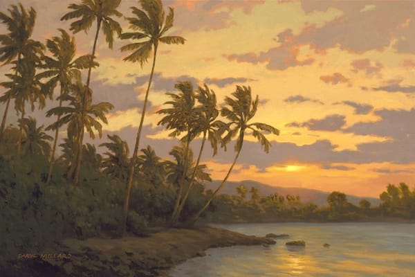 Last Light Hawaii  Art | Daryl Millard Gallery LLC