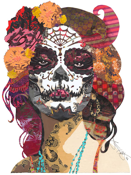 DAY OF THE DEAD WOMAN (PINK)