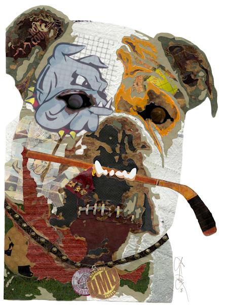 Bulldog Art | Made by Kristi