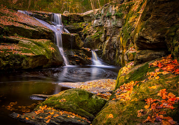 Enders Falls Autumn Swirls