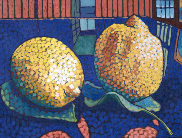 art, paintings, prints, lemons, still-life,