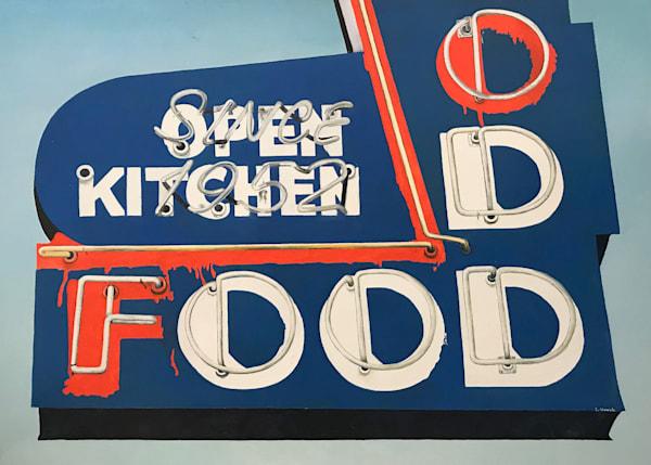 Odd Food by Brigitte Nowak | SavvyArt Market original art