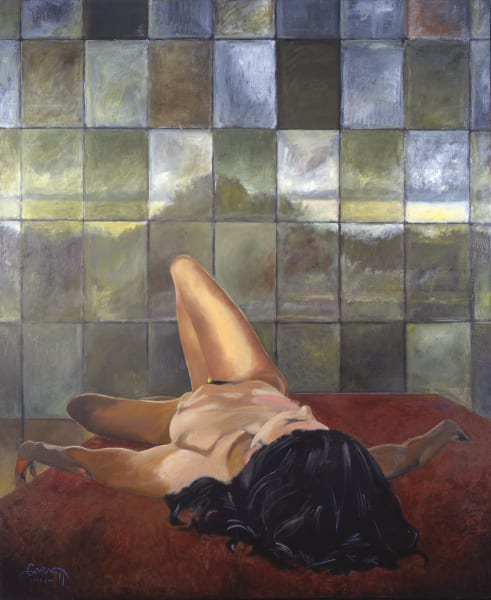 Reclining Nude Art | Sandy Garnett Studio
