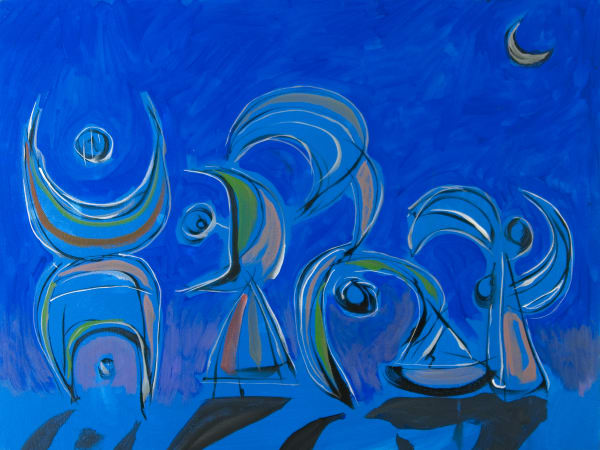 Boats And Dancers Art | Sandy Garnett Studio