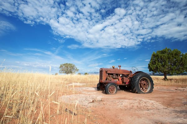 Smith Mesa Farm Tractor Art Prints