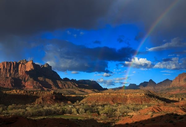 Zion Rainbow Art Prints