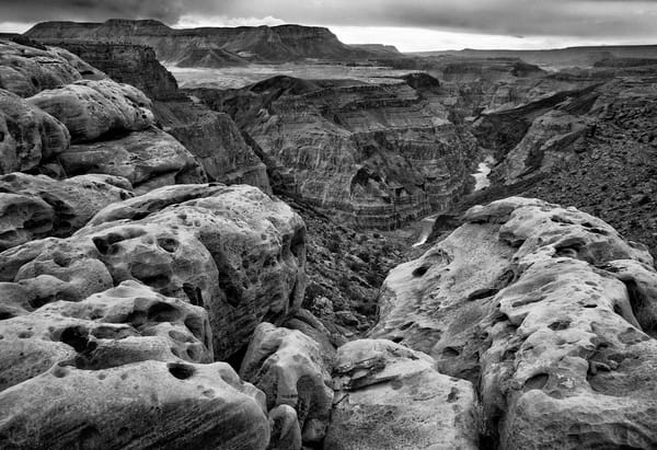 Toroweap Black and White Grand Canyon Art Prints