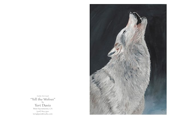 Tell The Wolves Card | HFA print gallery