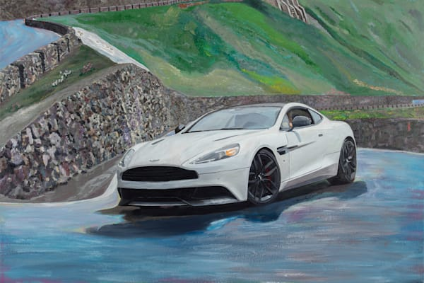 Aston Martin Vanquish for Alastair Donald