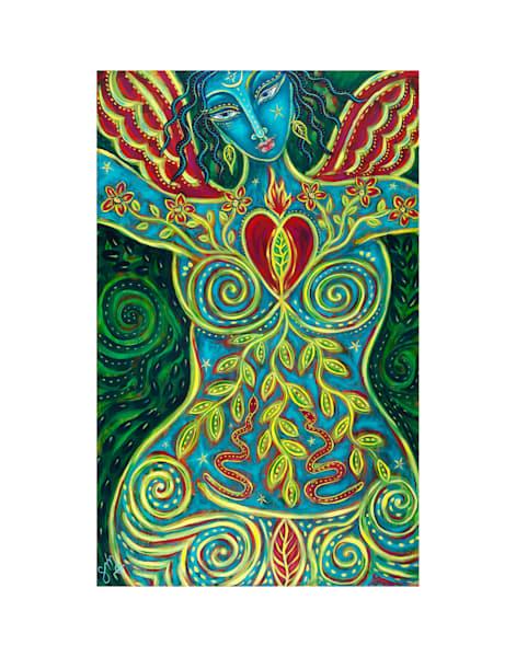 11x14 Blooming Goddess On Paper | HFA print gallery