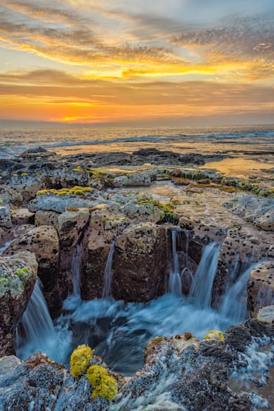 Pele's Well at Sunset