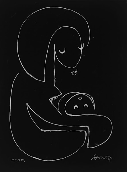 Mother And Child Art | Sandy Garnett Studio