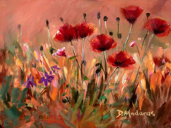 Poppies | Southwest Art Gallery Tucson | Madaras Gallery