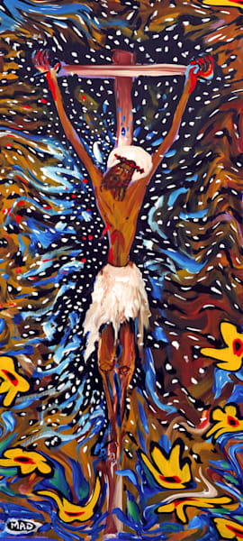 """The Crucifixion"" by Mark Durham 
