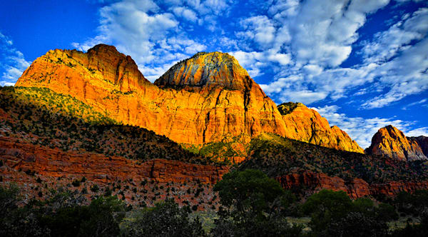 Zion Valley Sunrise