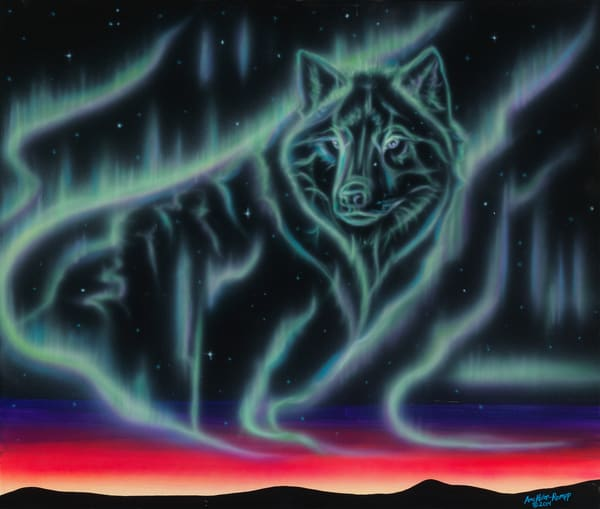 Sky Dance   Wolf Spirit Art | Amy Keller Rempp Art