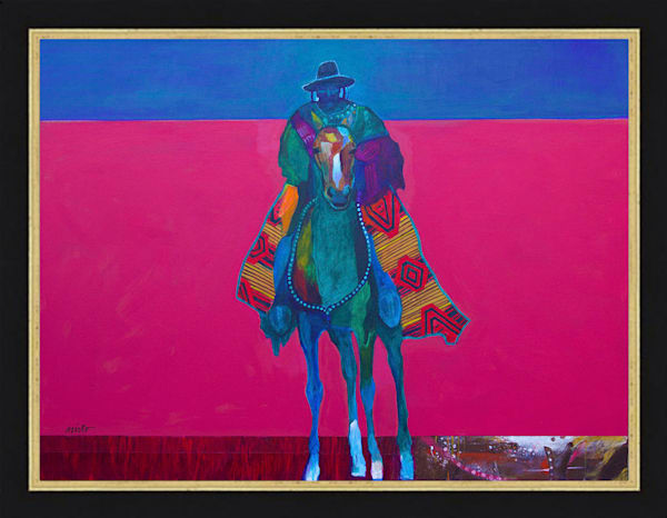 Early Southwest Man | John Nieto Original Painting