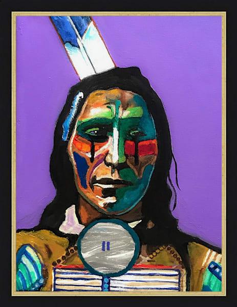 Red Cloud | John Nieto Original Painting