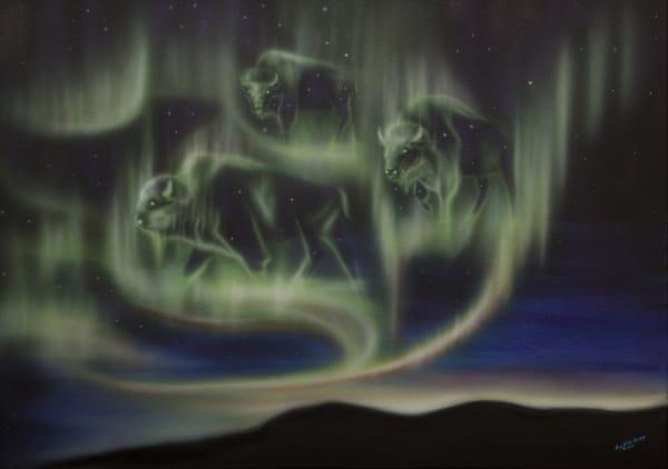 Sky Dance   Buffalo Art | Amy Keller Rempp Art
