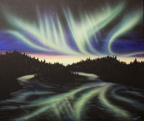 Sky Dance   Filled With Your Glory Art | Amy Keller Rempp Art