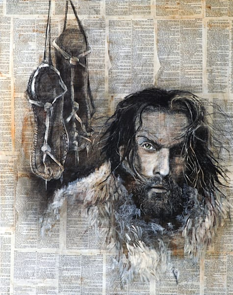 """John The Baptist"" by Patti Hricinak-Sheets 
