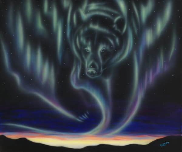 Sky Dance   Bear Art | Amy Keller Rempp Art
