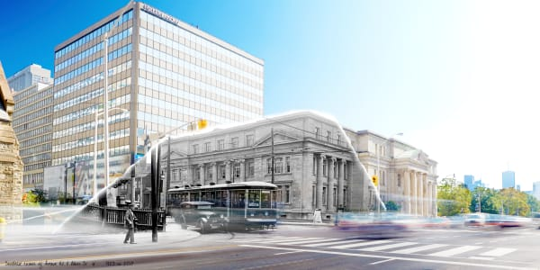 "Shop for Toronto ""Past Present"" archive decor for your space."