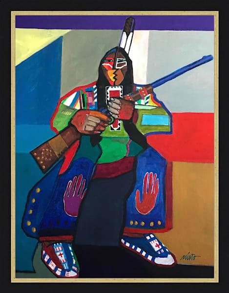 Mild Thunder | John Nieto Original Painting