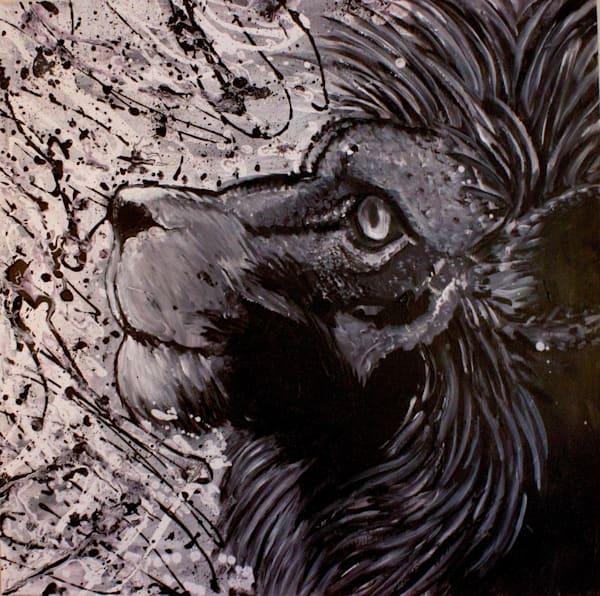 Hopeful Lion Art | Art by Trev: Trevor Griffin Fine Art