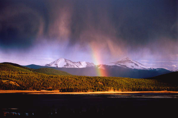 SUM-3816 • Rainbow over Lake Dillon