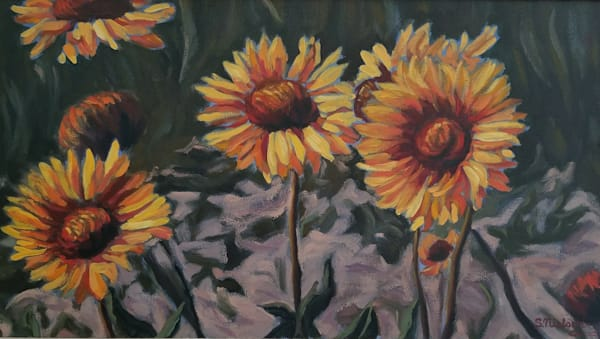 Brown Eyed Susan- Canadian artist Sherry Nielsen