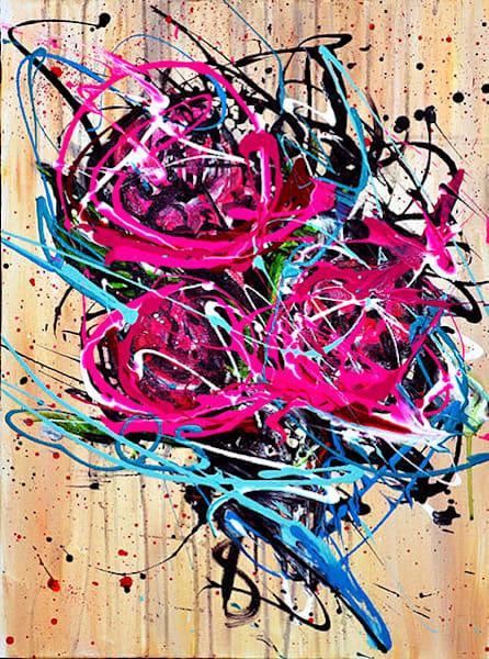 Floral Flow  Art | Art by Trev: Trevor Griffin Fine Art