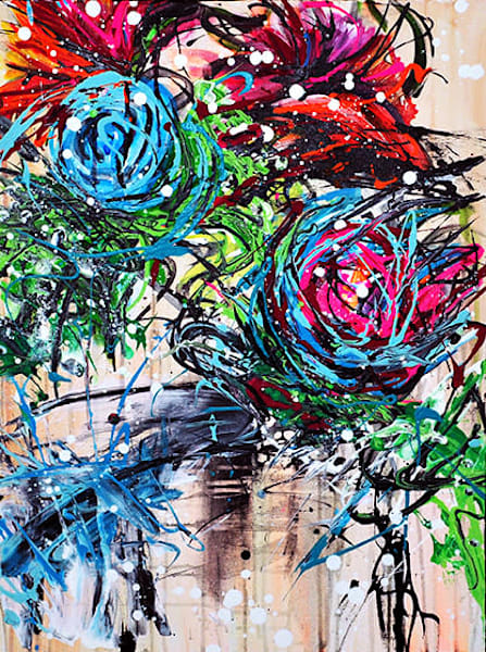 Flower Flow Art | Art by Trev: Trevor Griffin Fine Art