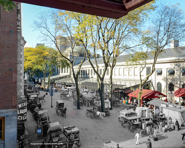 Quincy Market Art | Mark Hersch Photography