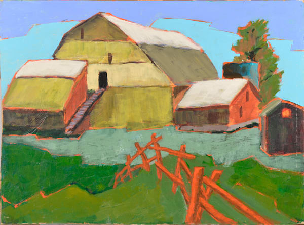 Ontario barn in Perkinsfield