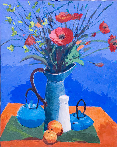 Still Life, Poppies