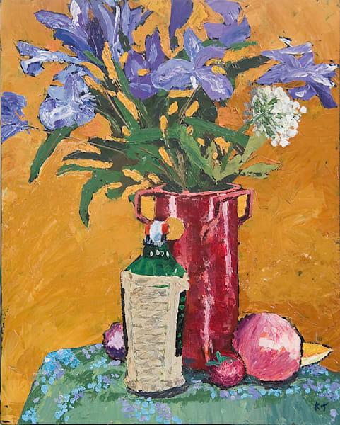 Still Life, Irises