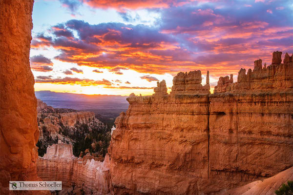 Bryce Canyon National Park magical sunrise from Sunset Point/Fine Art prints available by Thom Schoeller