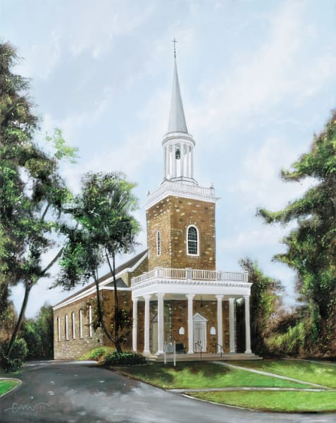 St. Stephen's Ridgefield Art | Sandy Garnett Studio